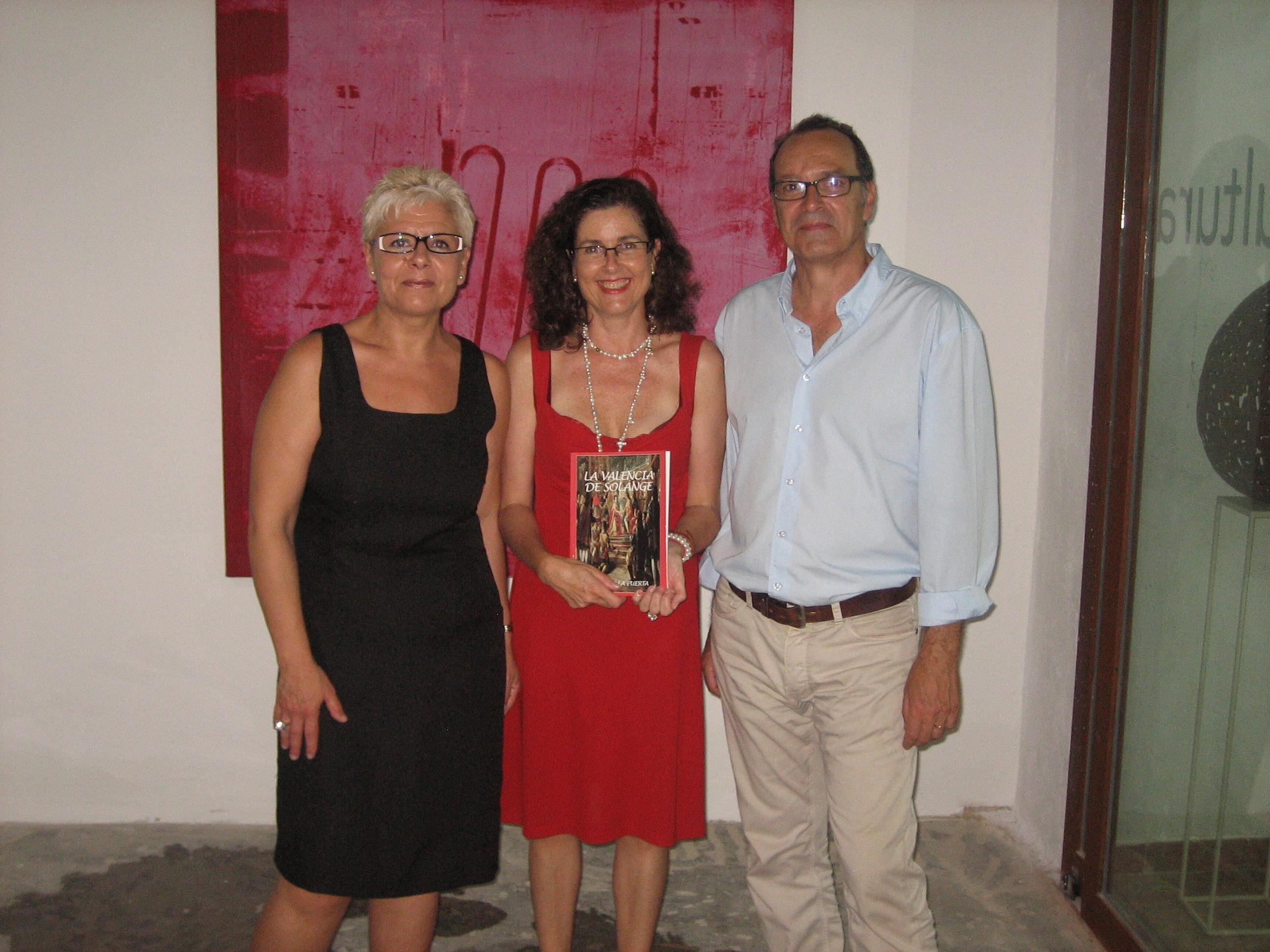 PRESENTACIÓN DE MI NOVEL CON CARMEN MANUEL , VICENTE Y RUTH EL 10 DE JUNIO DE 2012