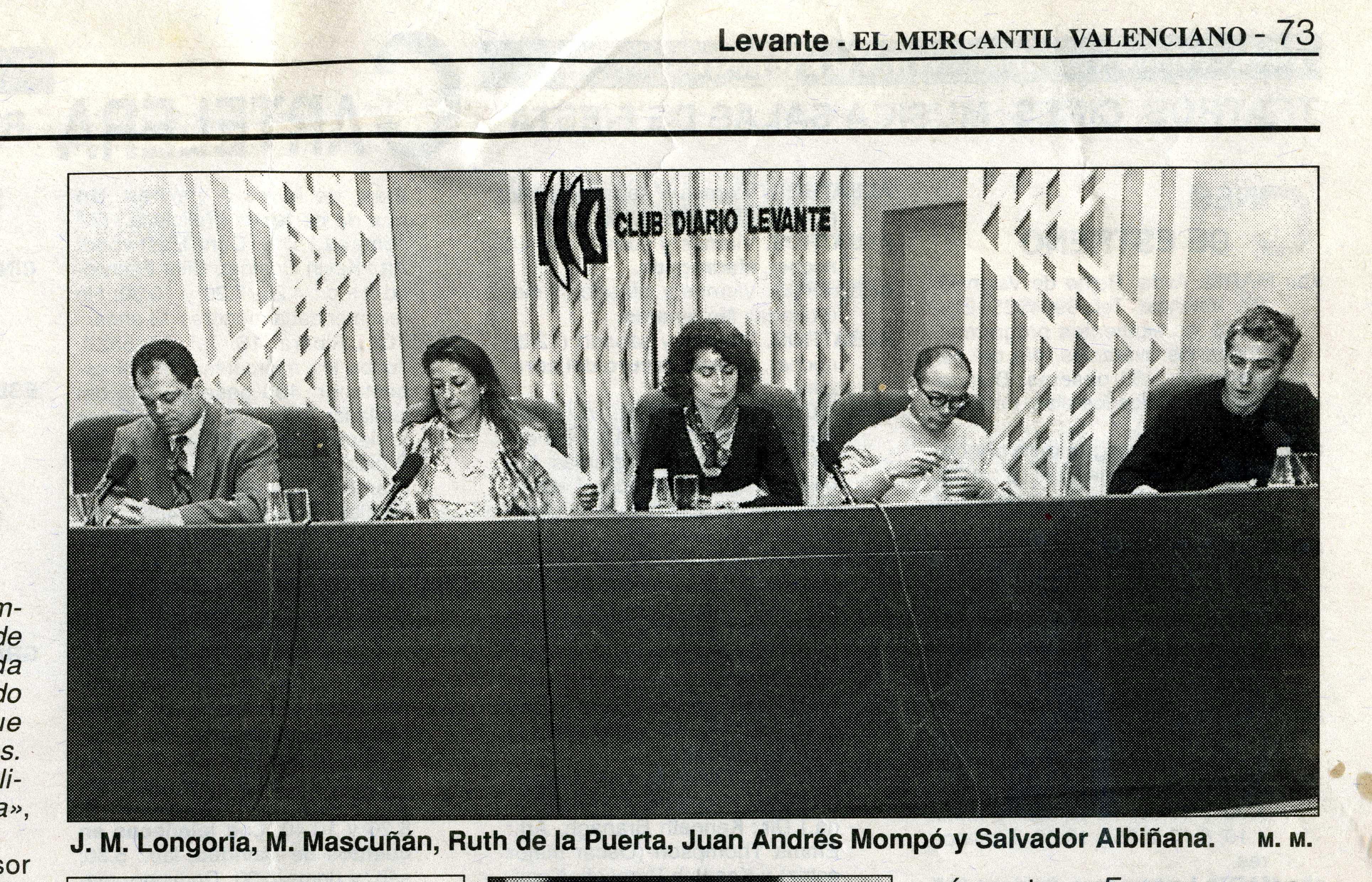 Presentaciópn libro Levante 1994