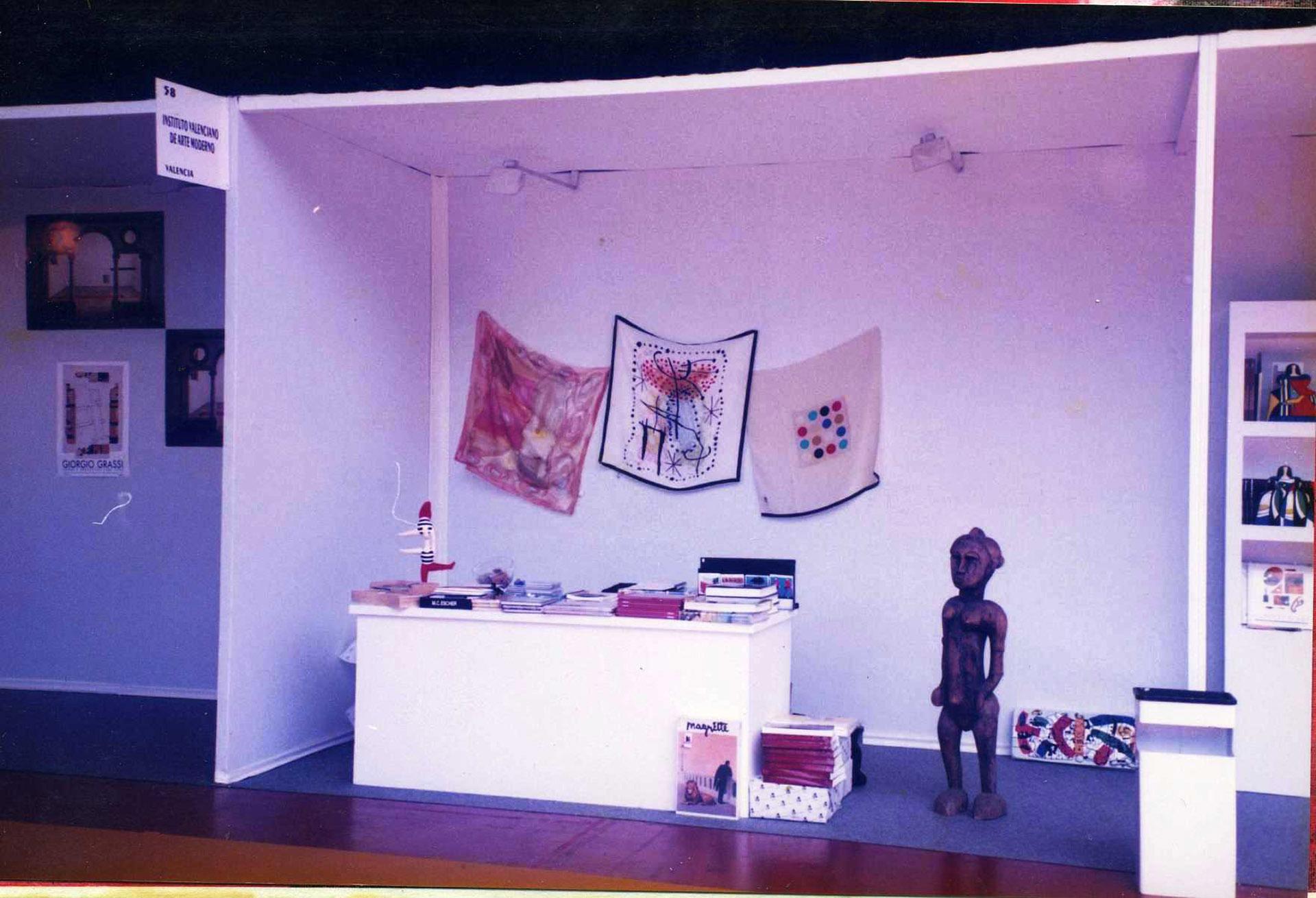EXposición en Feria-IVAM