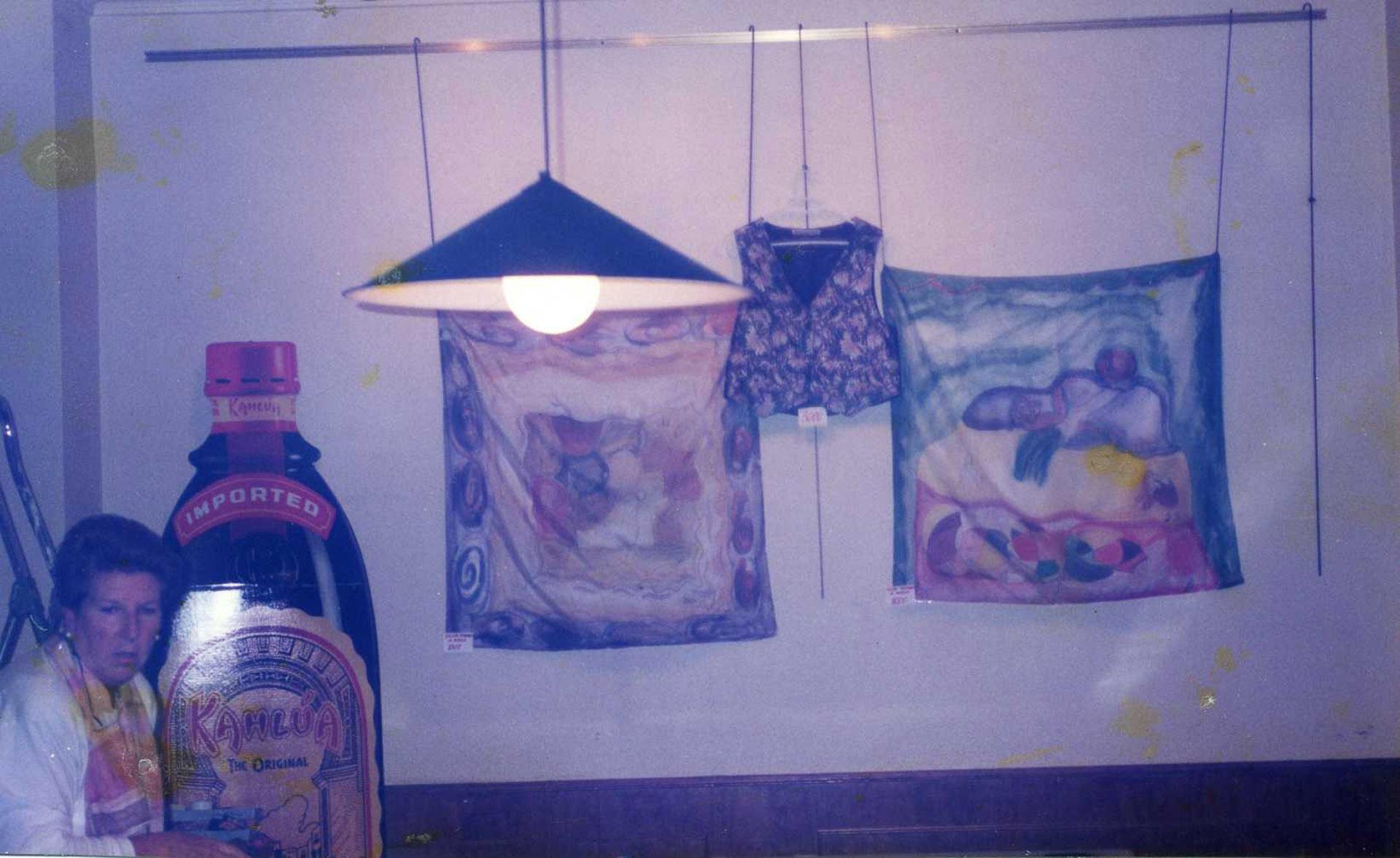 Exposicuión en el café Alameda