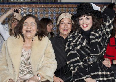 Front Row Paca Cordelat y Teresa Gómez Coloma