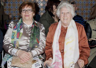 Front Row. Mª José EScribano LLuch y Consuelo