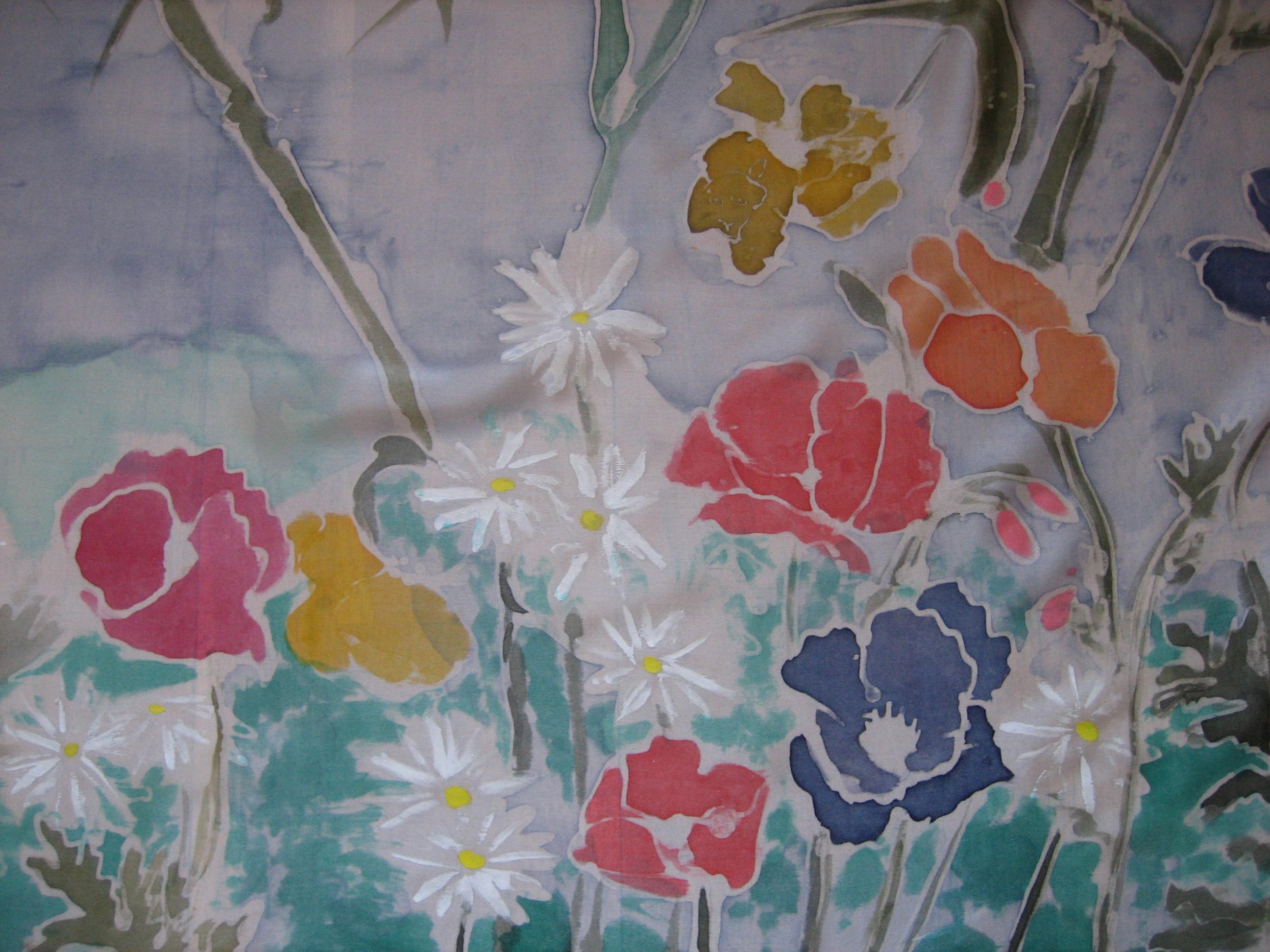 Detalle de grupo floral.