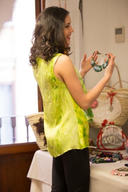 """Espalda de la blusa """"La Japonesita"""". Fotografía: Baúl de Fotos."""