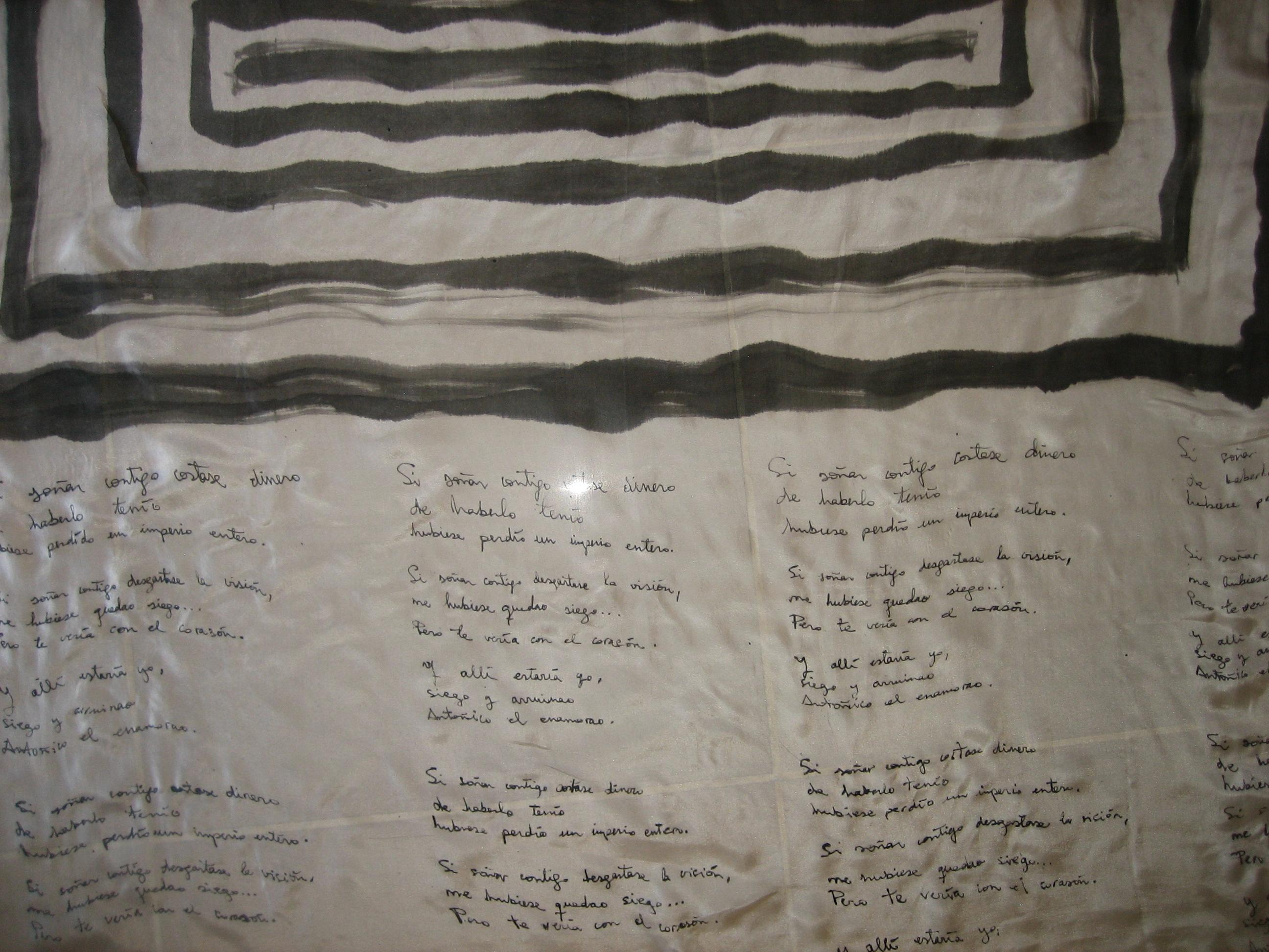 Pañuelo Poesía Toni Alcolea