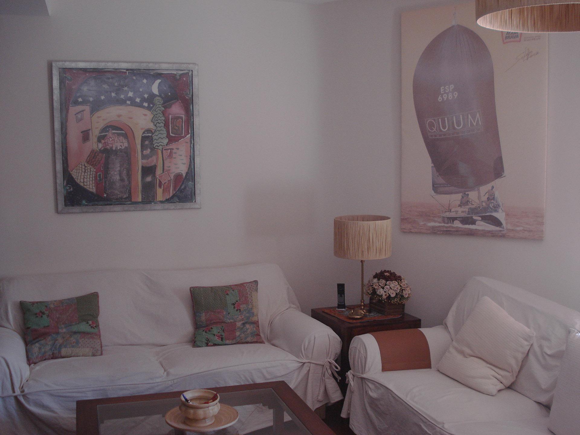 """Cuadro """"Homenaje a Picasso"""" en casa de Rocío Limón en Sevilla"""