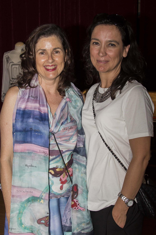 Sonia Selma con Ruth de la Puerta. Fotografía: Baúl de fotos.