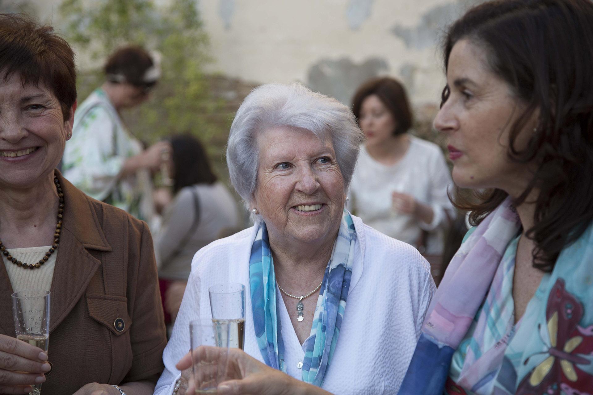 La madre de Ruth de la Puerta, Mª José Escribano LLuch. Fotografía: Baúl de Fotos.